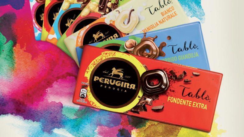 tablo perugina marche di cioccolato