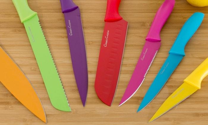 coltelli da cucina colorati