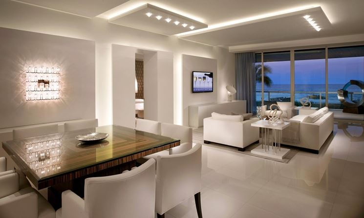 Come illuminare bene la casa con le luci a led vesto casa