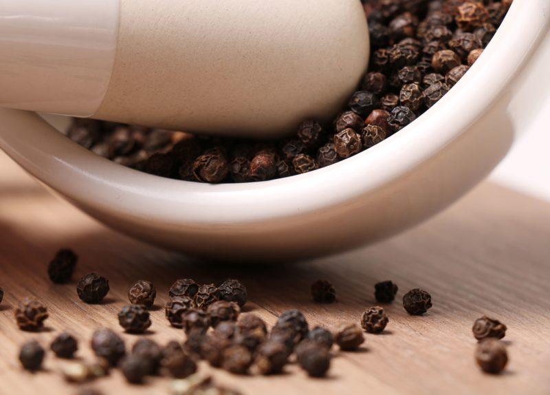 pepe nero - curcuma e piperina