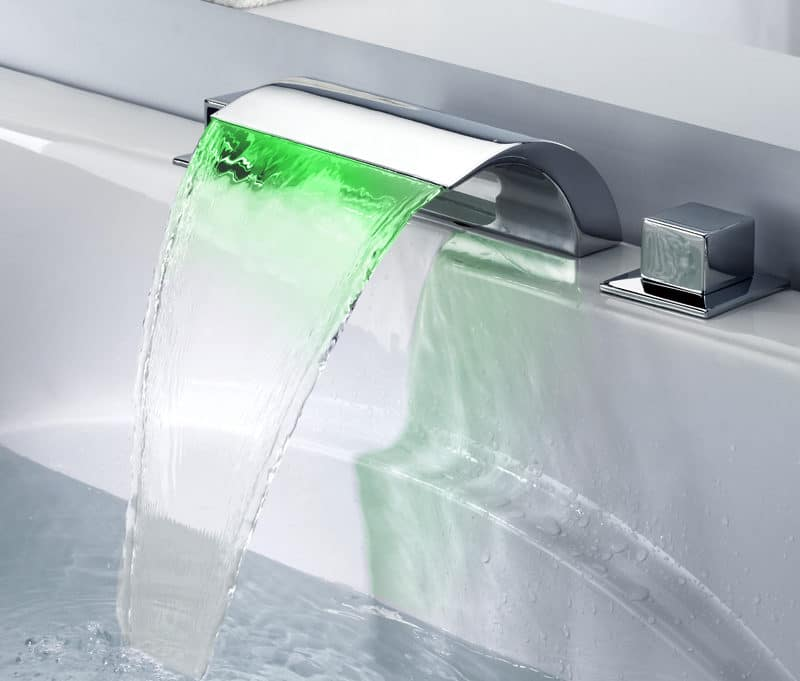 led rubinetteria bagno