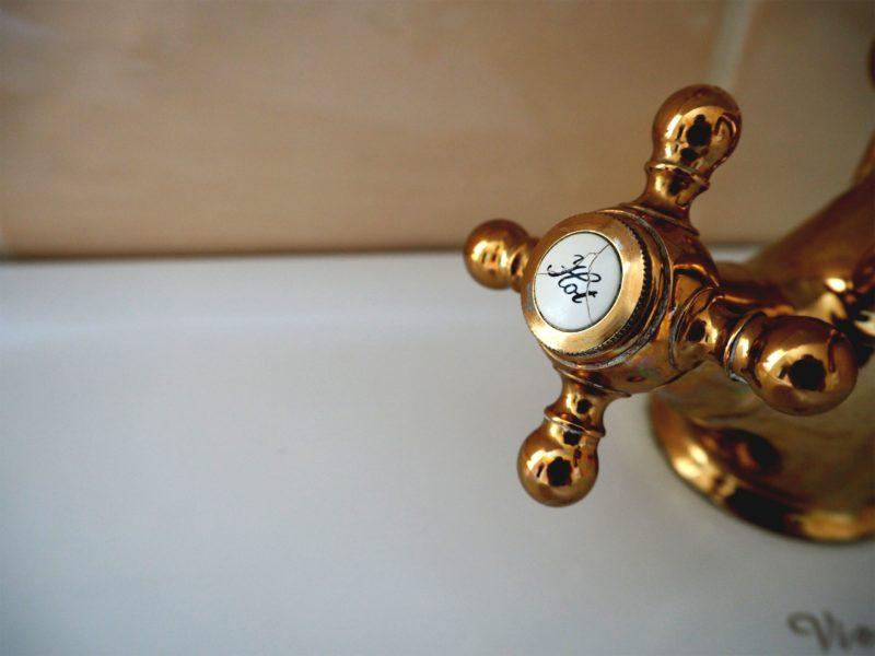 rubinetteria bagno rame