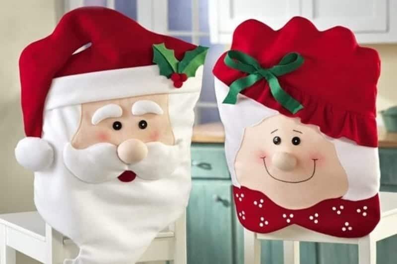 Coprisedie per Natale