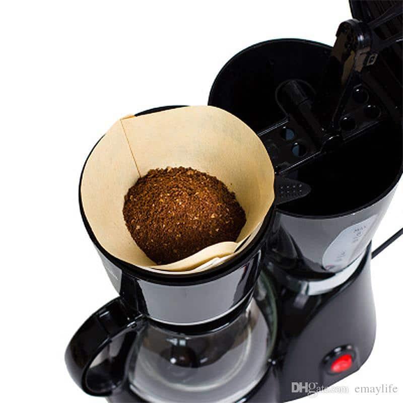 macchina caffè americano filtro di carta