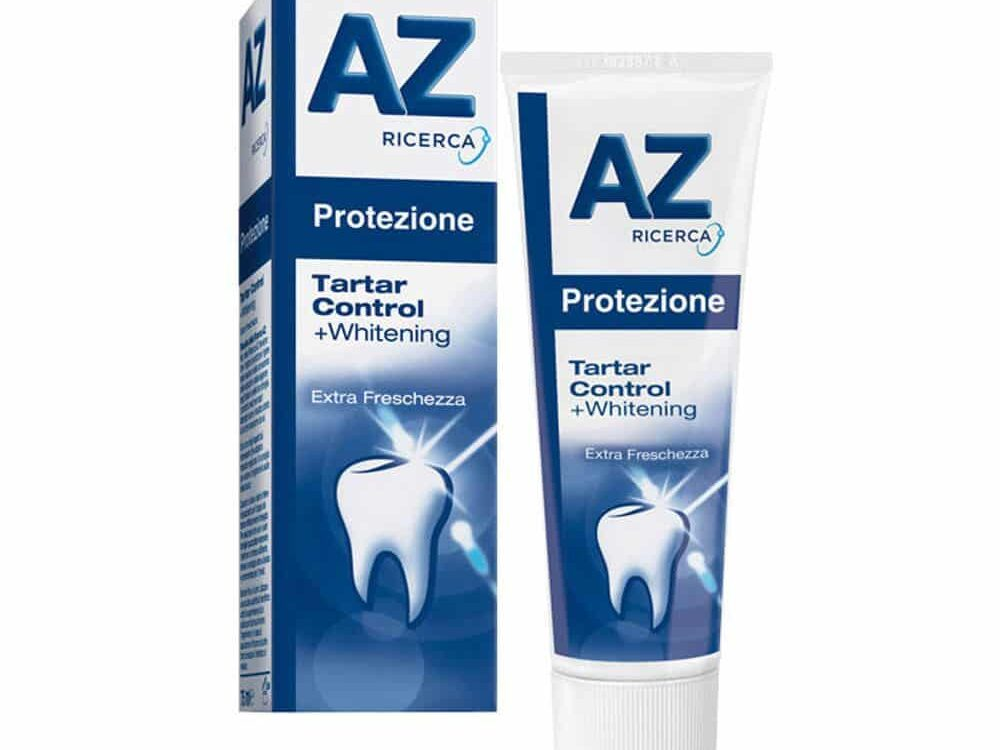 az tartar control marche dentifrici