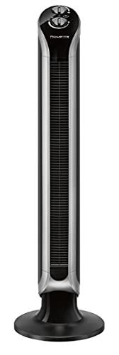 Rowenta VU6620 Ventilatore a Torre, Timer Fino a 3 velocità, Nero
