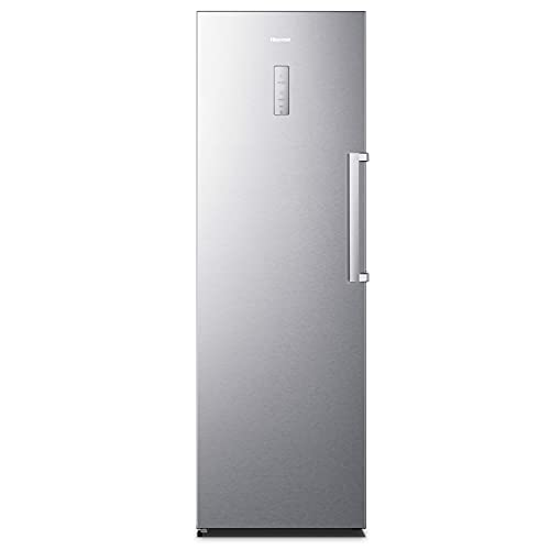 Hisense FV354N4BIF Freezer Verticale, 260 L, Inox