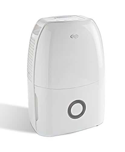ARGO Dry Digit Evo Deumidificatore con Refrigerante R290, Capacitá di Deumidificazione 17 L/24 H, da 5°C a 35°C , Bianco