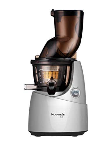Kuvings B9700 - Estrattore di succo, grande imboccatura e rotazione lenta, colore: Argento