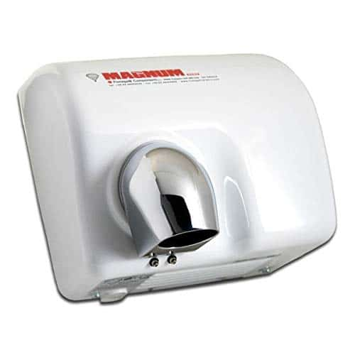 Fumagalli Asciugamano Magnum MG88 250 LEM (B) Porcellanato Bianco Asciugamano elettrico con fotocellula ad aria calda