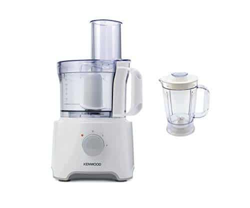 Kenwood FDP301WH MultiPro Compact Food Processor, Robot da Cucina con Frullatore, 800 W, 2,1 Litri, Plastica, Bianco