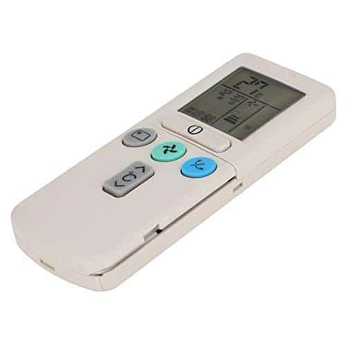 Yunir Telecomando Universale per climatizzatore di Raffreddamento Durevole Multifunzione per Hitachi RAR-2A1 RAR-52P1 RAR-2SP1 RAR-3U4 RAR-2P2 RAR-3U3 RAR-52P2 RAR-2P1