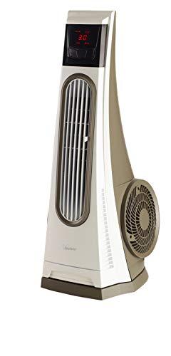 """Bimar VC92 Ventilatore Colonna Oscillante""""Tornado"""", Ventilatore a Colonna con Turbina ad Alte Prestazioni, Ventilatore con Telecomando, Timer, Deflettore, Oscillazione Destra Sinistra Automatica"""