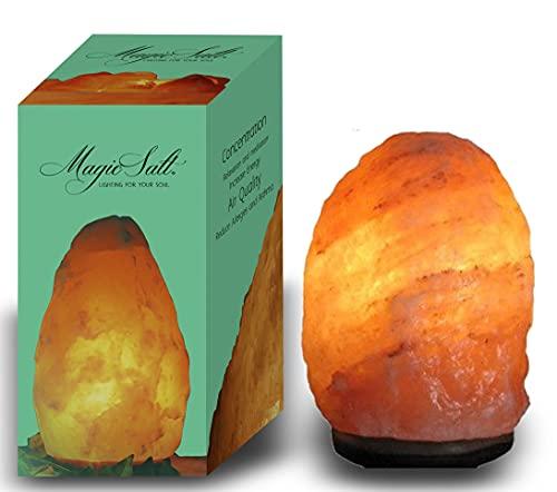 Lampada di sale dell Himalaya 4-6kg - Magic Salt® Lighting for Your Soul