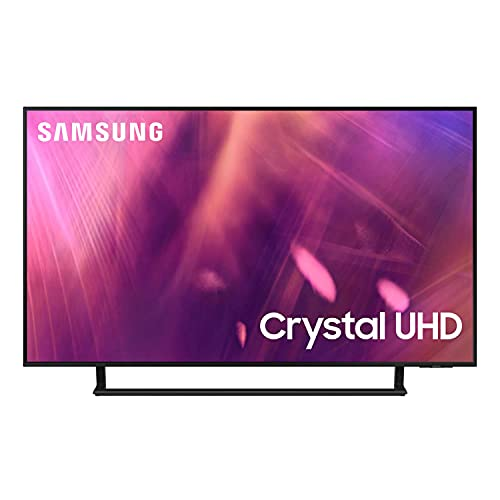 "Samsung TV UE50AU9079UXZT, Smart TV 50"" Serie AU9000, Modello AU9079, Crystal UHD 4K, Alexa integrato, Nero, 2021, DVB-T2 [Escl. Amazon][Efficienza energetica classe G]"