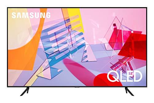 """Samsung TV QE55Q60TAUXZT Serie Q60T QLED Smart TV 55"""", con Alexa integrata, Ultra HD 4K, Wi-Fi, Black, 2020"""