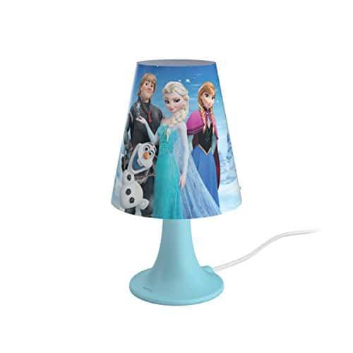 Philips 717953516 Frozen Lampada da Tavolo, Plastica/Sintetico, 2.3 Watt