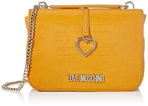 Love Moschino Collezione Autunno Inverno 2021, Borsa A Spalla Donna, Giallo, Unica