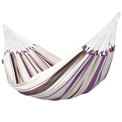 LA SIESTA Caribeña Purple - Amaca classica singola in cotone