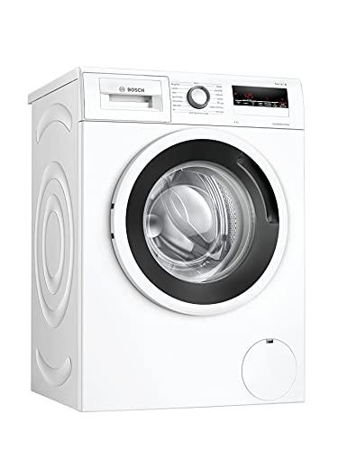 Bosch - Lavatrice A Carica Frontale 8 Kg 1400 Giri Rpm Serie 4, WAN28268IT, Lavatrice Bosch con Motore Silenzioso, per Bucato Morbido e Profumato con Apertura a Sinistra
