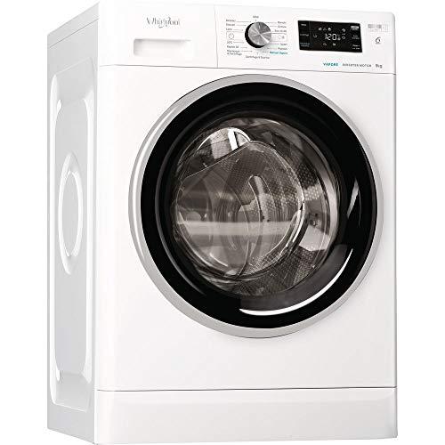WHIRLPOOL - Lavatrice Libera Installazione Whirlpool Modello FFB R8428 BV IT Capacita' 8 Kg Classe A+++-30% 1200 Giri