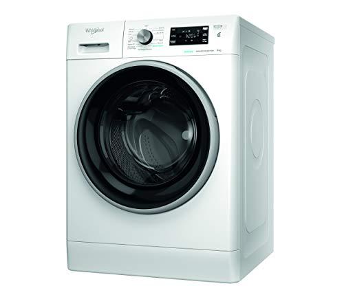 Whirlpool FFB 9468 BSV IT, Lavatrice a Carica Frontale a Libera Installazione, C, 9kg, 1400 GIRI/MIN