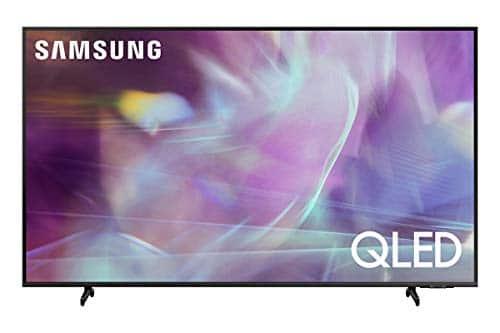 """Samsung TV QLED QE43Q65AAUXZT, Smart TV 43"""" Serie Q60A, Modello Q65A, QLED 4K UHD, Alexa integrato, Grey, 2021, DVB-T2 [Escl. Amazon][Efficienza energetica classe G]"""