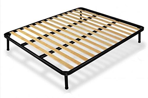 Bed Store® RETE A DOGHE STRETTE MATRIMONIALE 160X190 ORTOPEDICA DOPPIO RINFORZO