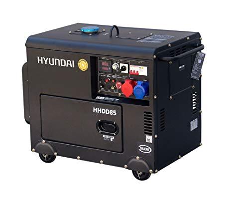 HYUNDAI DHY8600SE-T - Gruppo elettrogeno diesel mono e differenziato