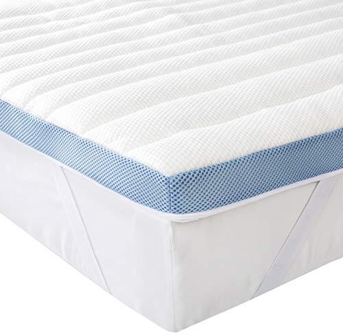 Amazon Basics 7-Zone-Air-Memory-Foam-Mattress-Topper - 160 x 190 cm