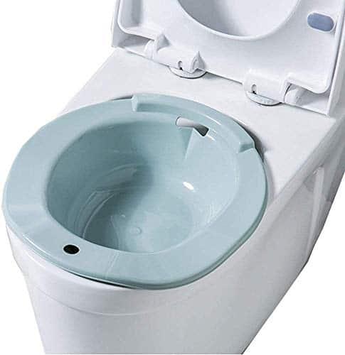 AGDLLYD Bidet Portatile per WC Universale,Bidet Portatile per Donne in Gravidanza,Rialzo WC e Bidet in per Anziani e Disabili,Adatto a tutti i WC Standard,Blu