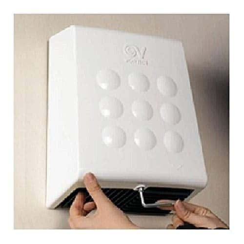 Vortice Asciugamani Professionale da 2000W Optimal Dry, Bianco, 1