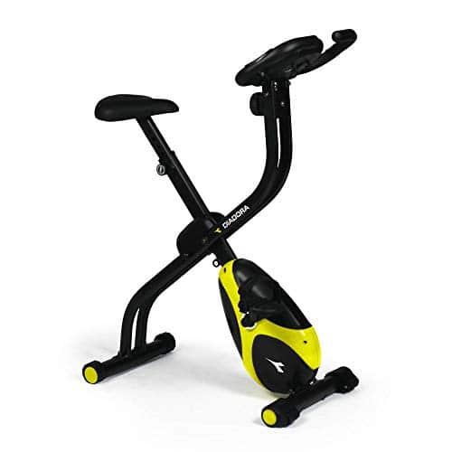 Diadora Fitness Smarty Hand Pulse - Cyclette Pieghevole Salvaspazio