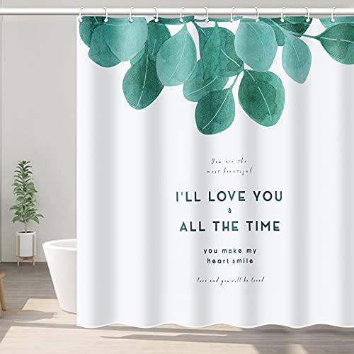 Tenda da doccia,Tenda da Doccia Impermeabile con Ganci Tenda da doccia in tessuto Tenda da Doccia Anti-Muffa 180 x 200 cm Tende Doccia Anti-Muffa Tessuto in Poliestere Tenda da doccia lavabile