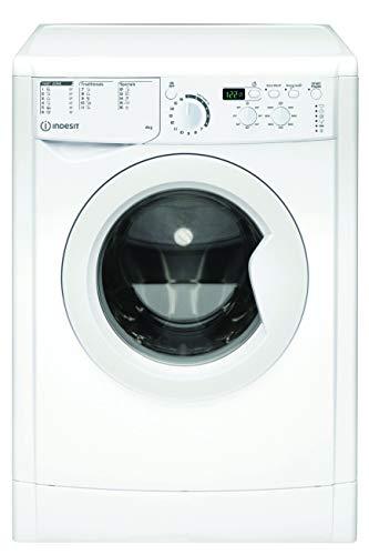 Indesit EWUD 41051 W EU N, Lavatrice Slim a carica frontale, 4 KG, F, 1000 GIRI/MIN