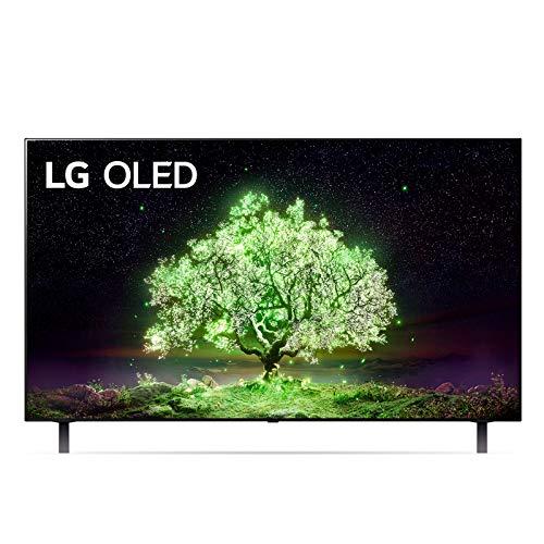 "LG OLED48A16LA Smart TV 4K 48"", TV OLED Serie A1 2021, Processore α7 Gen4, Dolby Vision IQ, Wi-Fi, webOS 6.0, FILMMAKER MODE, Game Optimizer, Google Assistant e Alexa Integrati, Telecomando Puntatore"