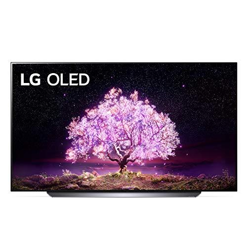 "LG OLED65C14LB Smart TV 4K 65"", TV OLED Serie C1 2021 con Processore α9 Gen4, Dolby Vision IQ, Wi-Fi, webOS 6.0, FILMMAKER MODE, Google Assistant e Alexa Integrati, 4 HDMI 2.1, Telecomando Puntatore"