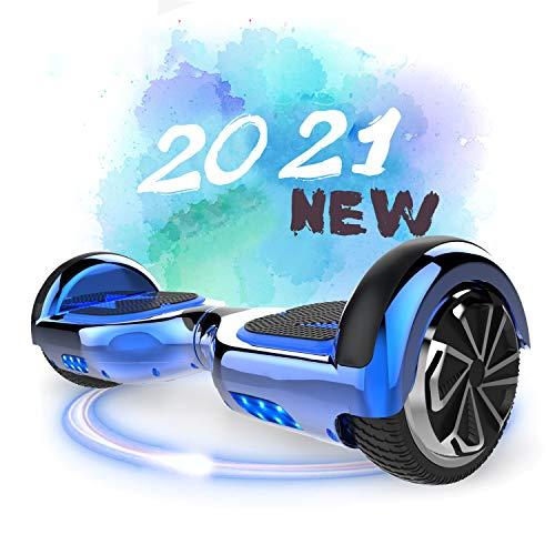SOUTHERN-WOLF Hoverboard, Self Balance Scooter 6.5 Pollici Monopattino Elettrico Smart Auto bilanciato Bluetooth Scooter Elettrico con Due Ruote Board Hover (Blue)