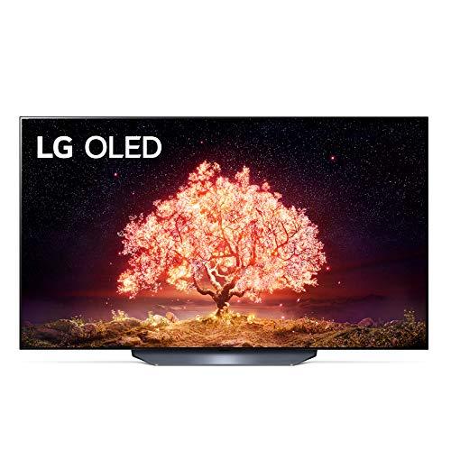 "LG OLED55B16LA Smart TV 4K 55"", TV OLED Serie B1 2021 con Processore α7 Gen4, Dolby Vision IQ, Wi-Fi, webOS 6.0, FILMMAKER MODE, Google Assistant e Alexa Integrati, 2 HDMI 2.1, Telecomando Puntatore"