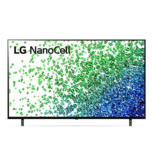 "LG NanoCell 55NANO806PA Smart TV LED 4K Ultra HD 55"" 2021 con Processore Quad Core 4K, Wi-Fi, webOS 6.0, FILMAKER MODE, Game Optimizer, Google Assistant e Alexa Integrati, Telecomando Puntatore"