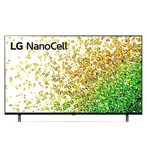 """LG NanoCell 65NANO856PA Smart TV LED 4K Ultra HD 65"""" 2021 con Processore 4K α7 Gen4, Dolby Vision IQ, Wi-Fi, webOS 6.0, Google Assistant e Alexa Integrati, 2 HDMI 2.1, Telecomando Puntatore"""